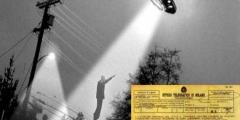 Mussolini censurò l'UFO di Milano