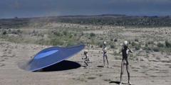 Un Monumento per gli alieni caduti