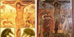 UFO nell'arte: Crocifissione Svetiskoveli di Mtskheta