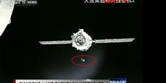 UFO in prossimità della stazione spaziale Cinese