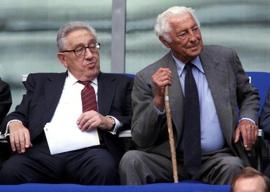Henry Kissinger e Gianni Agnelli