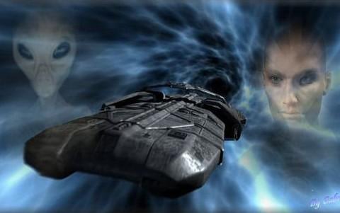 Questa teoria lancia anche un'interessante ipotesi sugli UFO. Il fenomeno degli oggetti volanti non identificati non ha mai trovato spiegazioni, pur essendo molto diffuso non solo nell'epoca contemporanea ma anche in quelle passate. Finora gli UFO sono stati associati a presunti visitatori provenienti da altri mondi. Sono però in molti a chiedersi come mai gli alieni non si siano mai rivelati.